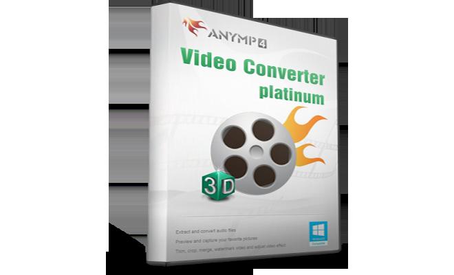 AnyMP4 Video Converter Platinum v6.1.22