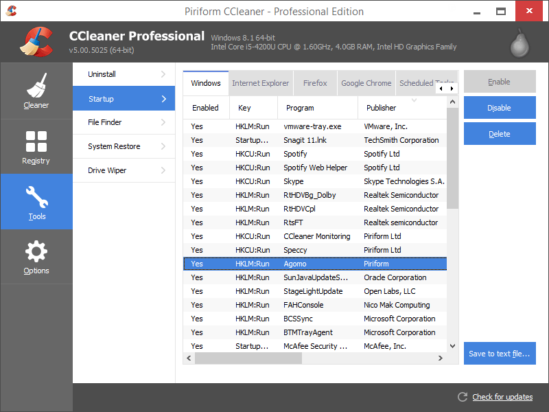 CCleaner v5.29.6033 Pro