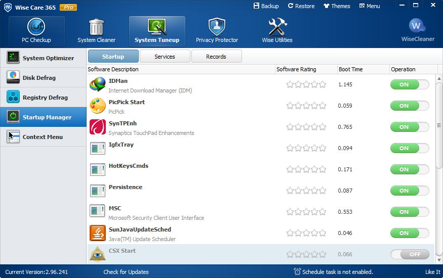 Wise Care 365 Pro 4.6
