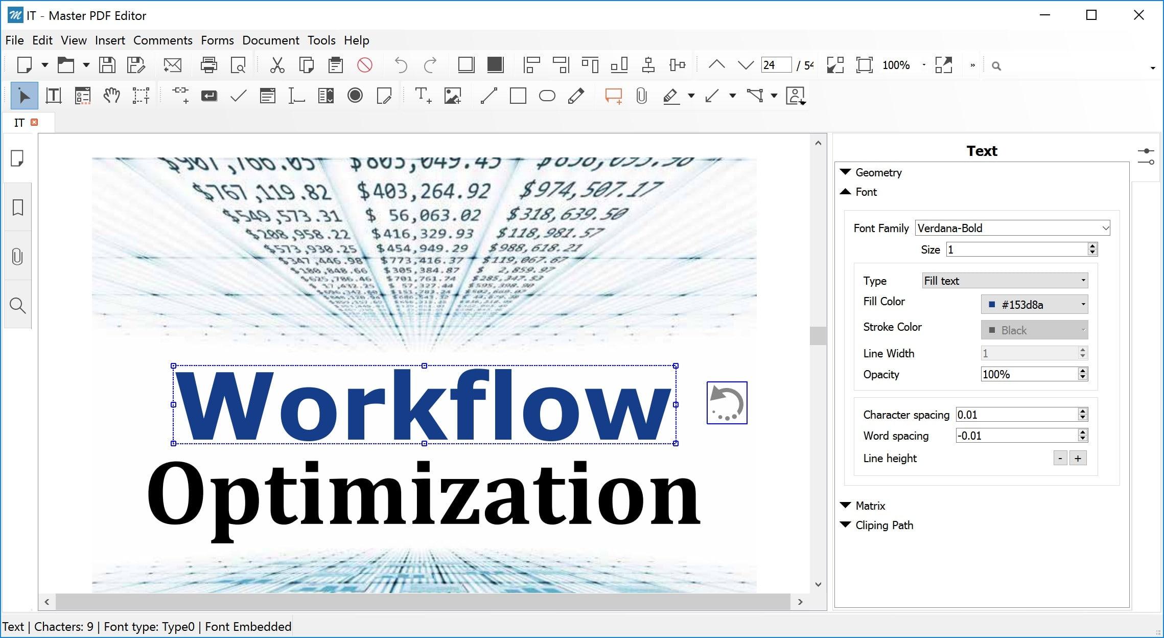 Master PDF Editor v4.2 Captura