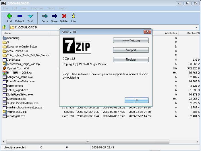 7-Zip v16.04