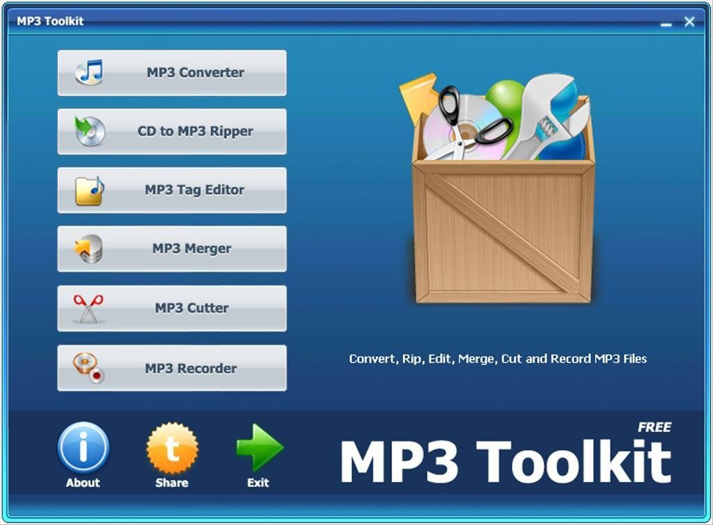 MP3 Toolkit v1.2 Portable
