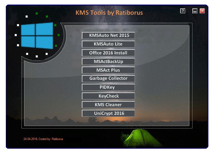 Resultado de imagen de KMS Tools by Ratiborus