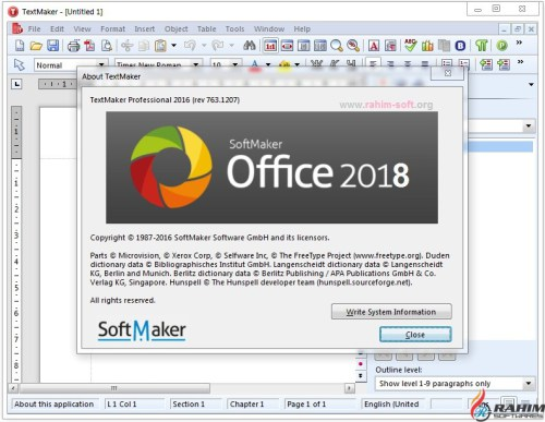 Descargar softmaker office profesional 2018 rev for Rev diez minutos