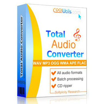 CoolUtils Total Audio Converter 5.3.0.162 cover
