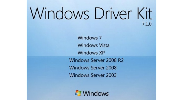 windows driver kit v7.1