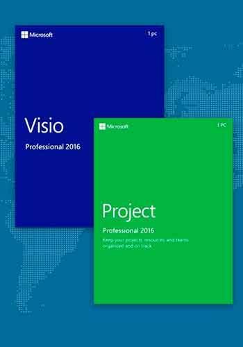 Visio y Project Professional 2016 VL Español x86-x64