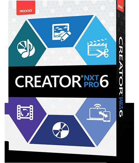 Corel Roxio Creator NXT Pro 6 V19.0.55.0 Multilenguaje
