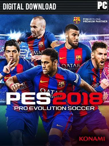 Pro Evolution Soccer 2018 Multilenguaje (Español) (PC-GAME)