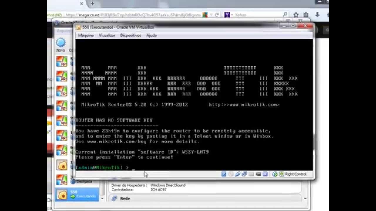 Mikrotik RouterOS 5.20 + Licencia