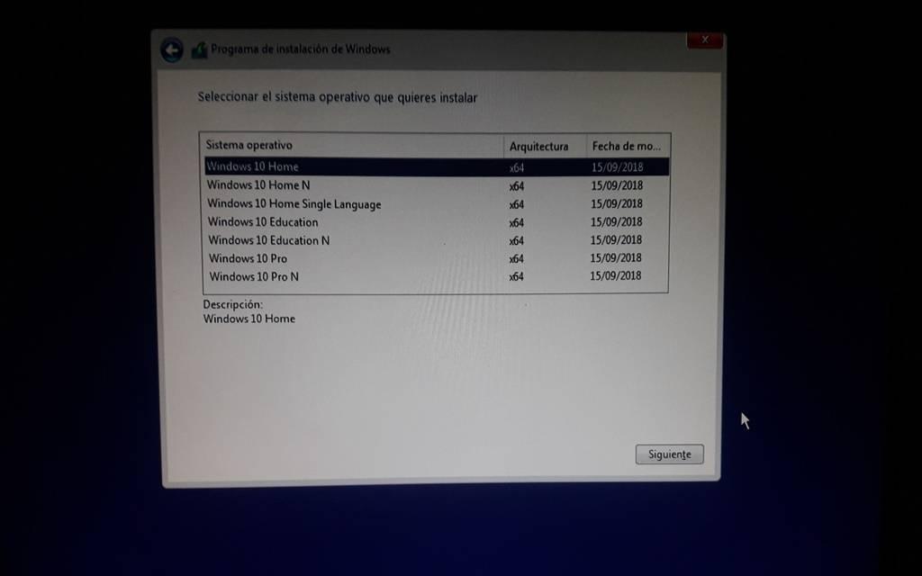 Windows 10 AIO 1809 Octubre 2018 Spanish