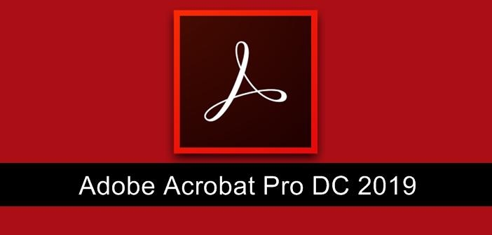 Adobe Acrobat Pro DC 2019.82007