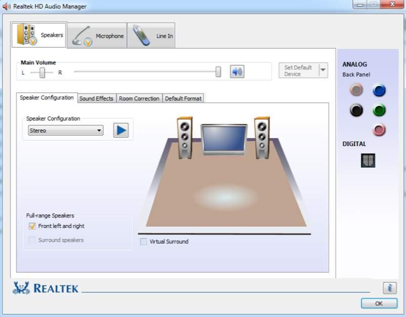 Realtek High Definition Audio Driver 6.0.1.8578 WHQL