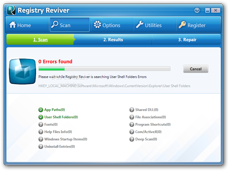 Soft para ReviverSoft Registry Reviver 4.20.1.8 Actualizacion Diciembre