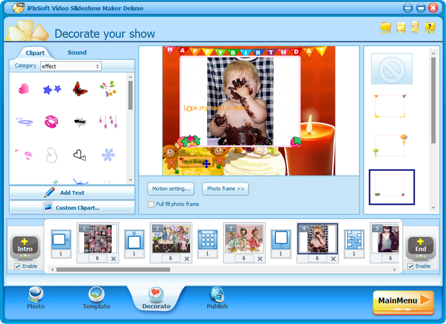 Soft iPixSoft Video Slideshow Maker Deluxe 3.9.0.0 Final Version