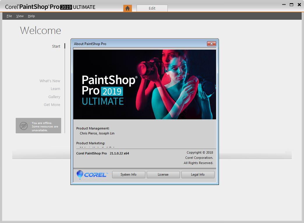 gratis software corel paintshop pro 2019 ultimate v21 1. Black Bedroom Furniture Sets. Home Design Ideas