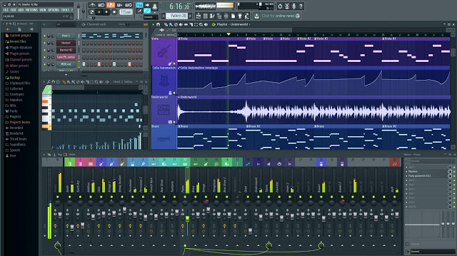 Software FL Studio 20.0.5 Ultima Version
