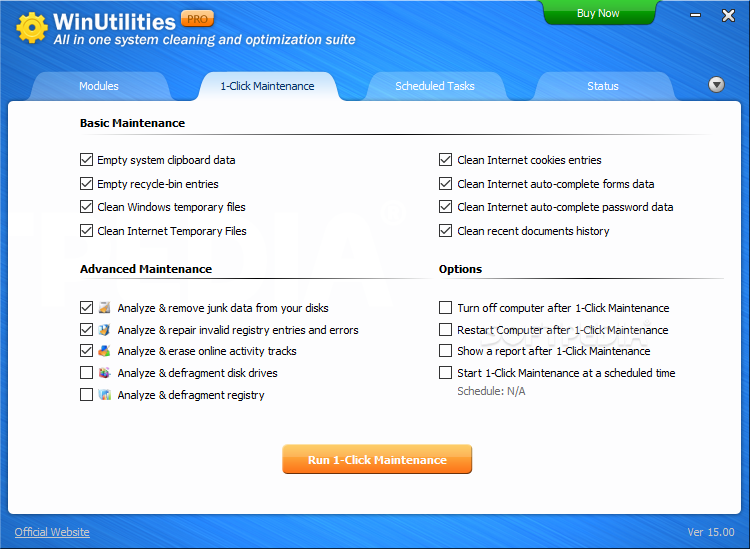 Software WinUtilities Professional 15.45 Version Final